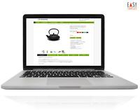 eBay Vorlage 2020 Responsive Template mit HTML Auktion Apfelgrün + Editor