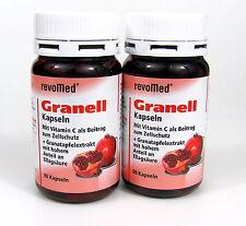 Granell revoMed Granatapfelextrakt 2 x 90 Kapseln Granatapfel Tabletten