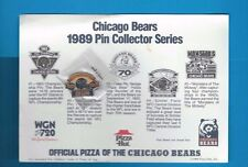 Chicago Bears 1989 Pin Collector Series Pin #2 1985 Super Bowl Championship