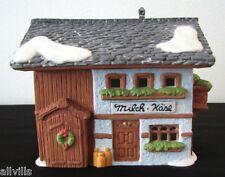 Milch Kase Milk Cheese Shop #65409 Dept 56 Ret Alpine Village Original Series
