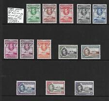 Gold Coast Stamp Collection George VI 1938 umm set of 13 perf 12 . SG Cat: £360+