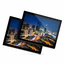 2 x Glass Placemats 20x25 cm - Panama City Cityscape Landscape  #21988
