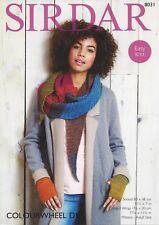 Sirdar Colourwheel Snood and Wrap Knitting Pattern 8031