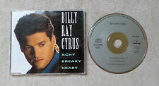 "CD AUDIO MUSIQUE / BILLY RAY CYRUS ""ACHY BREAKY HEART"" CD MAXI-SINGLE 1992 3T"