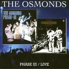 The Osmonds : Phase Iii/live CD (2008) ***NEW*** FREE Shipping, Save £s