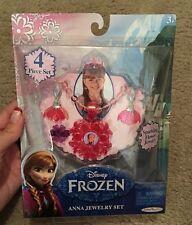 Disney Frozen Anna Jewelry 4 Piece Set