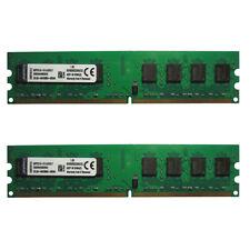 KVR DDR2 RAM 4G800MHZ(2X2G800)Desktop 1.8v Double-sided particles