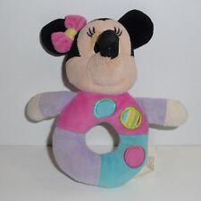 Doudou Hochet Souris Minnie Disney