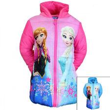 Die Eiskönigin Frozen Elsa Anna Winterjacke Jacke Wintermantel  Mädchenjacke
