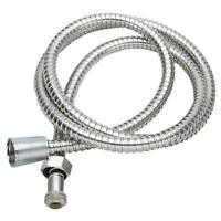 New 2M Stainless Steel Flexible Bathroom Bath Shower Head Hose Pipe Washers