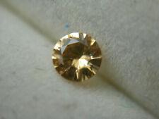 rare GROSSULAR Garnet gem peach orangey Yellow E. Africa diamond cut gemstone a