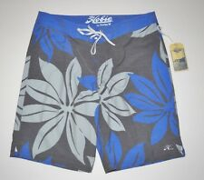 "New Hobie By Hurley Mens Pop Palm 19"" Swim Surf Board Shorts Size 32"