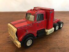 Vintage Red Tootsie Toy Peterbilt Truck Cab Metal Diecast Truck (HD16)