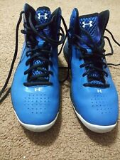 Under Armour Ua Men Size 7.5 ClutchFit Drive Basketball Shoes Blue High Top