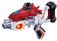 BANDAI Lupinranger VS Patoranger Transform Gun DX VS LUPIN RED CHANGER