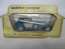 Matchbox Models of Yesteryear 1928 Mercedes SS Blue Y-16
