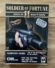 Soldier of Fortune II: Gold Edition (PC Game, 2003) Windows BRAND NEW!! SEALED!!