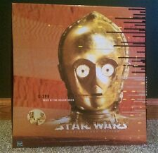 "1999 Star Wars C-3PO 12"" Figure, Book - Tales of the Golden Droid - Unopened MIB"