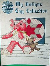 1983 Designs By Gloria Pat My Antique Toy Collection Cross Stitch Book #37 (Cm)