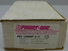 Power One Model Haa15 08 A Dual Output Power Supply