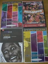 New: Mixed Set of Jazz & Swing Era Music/Dance DVDs x 4