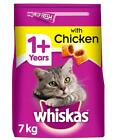 7kg+Whiskas+1%2B+Adult+Complete+Dry+Cat+Food+with+Chicken+Bulk+Pack+Cat+Biscuits
