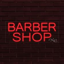 Brand New Barber Shop 32x13x1 Inch Led Flex Indoor Sign 30381