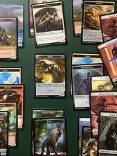MTG TOKENS Lot 20+ Including Lifelink Wurm From Various New Sets NM Condition