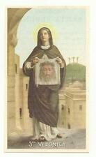99617 SANTINO HOLY CARD SANTA VERONICA