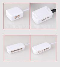 2510 terminal 1 for (4-12) Ports Male Plug LED Cabinet Light  led Junction Box