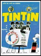Tintin et le mystere de la toison d'or Movie poster print