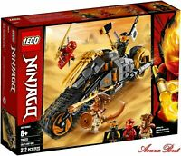 Lego Ninjago 70672 Masters of Spinjitzu Cole's Ninja Dirt Bike Vs Pyro Destroyer