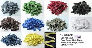 200 Peel and Stick No Non Slip Grips for hair clips bows barrettes self adhesive