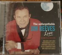 The Unforgettable Jim Reeves Live - CD - RARE!