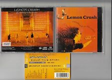 LEMON CRUSH - SOMETHING IN THE WATER CD 1996 JAPAN OBI SHCD1-0016 ROCK