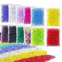 slime beads, fishbowl beads - diy for crunchy slime, clear vase filler beads,7mm