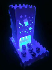 Doctor Who Space Dice Tower With Tray and light up Tea Light - Role Playing