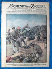 La Domenica del Corriere 23 marzo 1919 Stati Uniti - Pompieri - Gen. Diaz