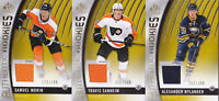 17-18 SP Game Used Travis Sanheim /399 Jersey Rookie GOLD Flyers 2017