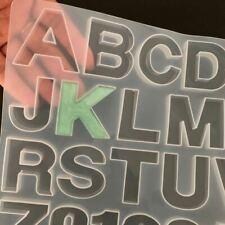 Silikon Harz Resin Fondant Silikonformen Glanz epoxidform Epoxidharz Buchstaben