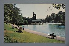R&L Postcard: Sheffield, Model Boating Lake Firth Park