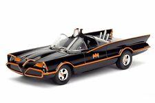 JADA CLASSIC TV SERIES BATMAN 1966 BATMOBILE 1/32 DIECAST MODEL CAR BLACK NO BOX