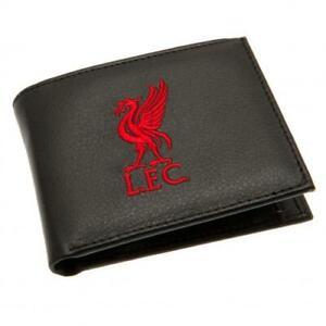 Official LIVERPOOL FC Club Crest WALLET Bi fold LFC Gift