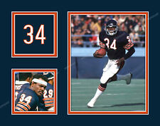 WALTER PAYTON Photo Picture Collage CHICAGO BEARS Print 8x10, 11x14 or 16x20 P1