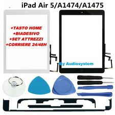 VETRO +TOUCH SCREEN APPLE IPAD AIR 5 TASTO FLAT HOME +COLLA +TOOLS A1474 A1475