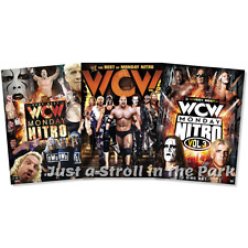 WWE: The Very Best of WCW Monday Nitro: Complete Volumes 1 2 3 Box / DVD Set(s)