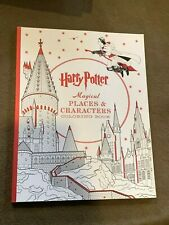Harry Potter Magical Places & Characters Large Softback Coloring Book Unused