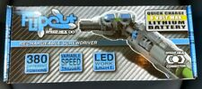 SpeedHex Flipout 8-Volt Max Cordless Driver with 19-Piece Bit Set *New*