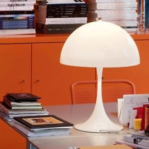Creative Mushroom Table Lamp Bedroom Modern Minimalist Home Decor Desk Lamp