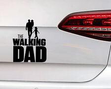 Baby On Board Autocollant The Walking papa Sticker père avec bébé dans les bras Fun Décalque